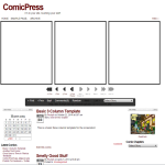 WordPress - ComicPress theme