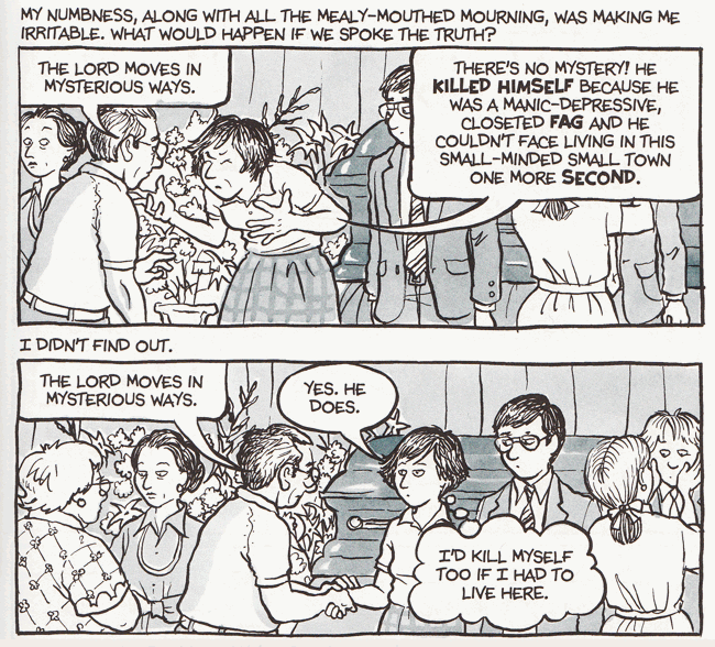 Viñeta 2 de Fun Home © 2007 Allison Bechdel
